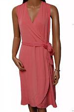 Polyester Midi Wrap Casual Dresses
