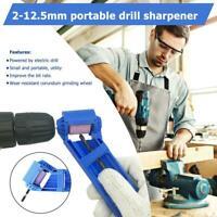 2-12.5mm Portable Metal Drill Bit Sharpener Corundum Grinding Wheel For Grinder