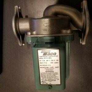 0010-SF3 Taco SS pump circulator new no box from shop inventory
