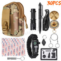 Outdoor SOS Emergency Survival Equipment Kit Gear Tool Tactical Camping Hunting