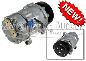 A/C Compressor w/Clutch for Volkswagen Corrado Golf Jetta & Passat - NEW