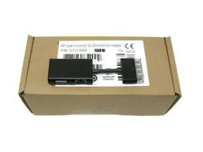 New Genuine HP Dock Connector to Ethernet and VGA Adapter G7U78AA