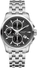 H32596131 Hamilton Jazzmaster Chronograph Automatic Black Dial Mens Watch