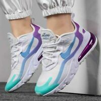Nike Air Max 270 React White Women's Trainers in Various Sizes