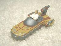 """1994 LGT GALOOB STAR WARS MICRO MACHINES LUKE SKYWALKER LAND SPEEDER 1 3/4"""" FIG."""