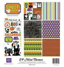 "ECHO PARK ""GHOST TOWN"" 12X12 PAPER MINI KIT FALL HALLOWEEN SCRAPJACK'S PLACE"