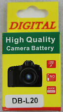 New! Replacement Battery DK101-3 For DB-L20 3,7V 1000 MAH - Sanyo-Camcorder