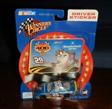 Winners Circle Kevin Harvick Monte Carlo 400 Rematch Looney Tunes 1:64 Sticker