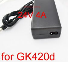 AC/DC 24V 4A Power Supply For Zebra GK420d GX420d GK420t GK420t Printer Adapter