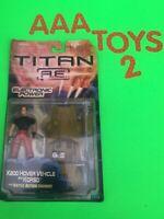 Titan A.E. X200 Vehicle & KORSO Figure Hasbro 2000