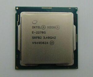 INTEL XEON E-2278G SRFB2 3.40GHz 8 Cores 16MB LGA1151