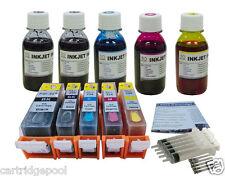 Refillable cartridges for Canon PGI-225 CLI-226 PIXMA MX712 MX882 MX892 4oz