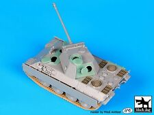 Black Dog 1/72 Panther Ausf.D Tank Detail Set WWII (for Dragon) [with PE] T72042