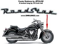 ROADSTAR Fender/Saddlebag Emblems for Yamaha Road Star -  NEW!