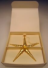 Margaret Furlong Christmas Ornament Evening Star 5� tall #Gls-S in Original Box