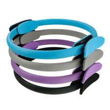 Pilates Yoga Double Handle Ring Resistance Loop Exercise Weight Loss Body Circle