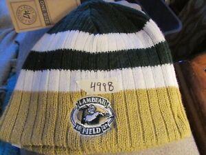 Green Bay Packers Knit Beanie Hat 47 ( LAMBEAU FIELD) Forty seven NWT