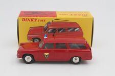 1:43 Atlas Dinky Toys 525 P 404 Peugeot Break DE Pompiers Red