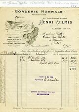 Paris IV ème & Dépt 93 - Belle Entête d'une Corderie pour la Gymnastique de 1926