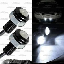 1x Pair White LED DRL 18mm x 30mm 12V 3W Eagle Eye Daytime Running Light Lamps