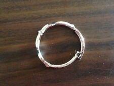 Silver Plated Bangle Sapphire Fashion Bracelets
