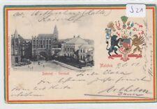2000 , Malchin Patiotika Präge Wappen Bahnhof mit Vorstadt, 1901 !