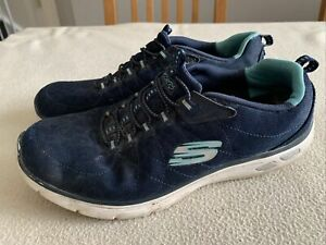 Women's Skechers Relaxed Fit Slip On Trainers Size Uk 7