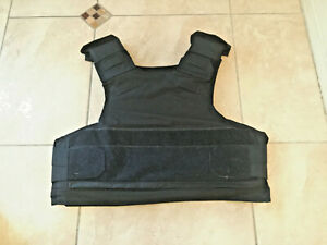 XL TACTICAL Body Armor Bullet Proof Vest With Plates / panels level IIA *81