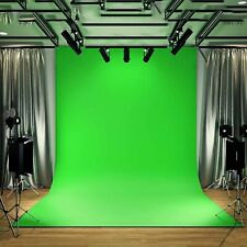 Green screen Chroma Key Green Screen Fabric,Zoom Tik Tok OBS Background (2MX3M)