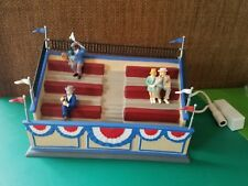DEPT 56 CHRISTMAS IN THE CITY BALLPARK BLEACHERS 59436 RETIRED WITH AC ADAPTER