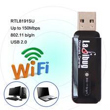 150M RTL8191SU USB AW-NU120 WiFi Dongle Wireless LAN Adapter 802.11b/g/n Network