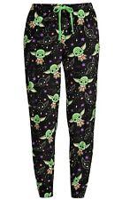 Women's Baby Yoda Pajama Lounge Sleep Pants Mandalorian Star Wars S M L XL 2X 3X