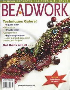 Beadwork Magazine ~ February/March 2006