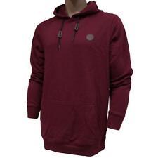 Oakley LANGLEY Hoodie Size XXL Mens Red Night Fleece Hooded Jumper Sweater