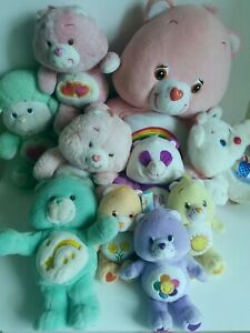 Vintage Care Bears & Care Bear and Cousions Plush Lot