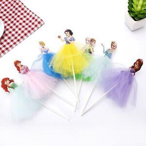 Birthday Cake Toppers Decoration for girls Dress Sofia/Frozen/SnowWhite Princess