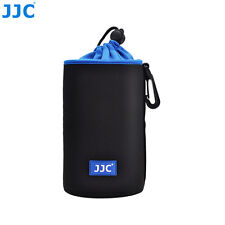 JJC 90 X 170mm Neoprene Lens Pouch Bag Case Waterproof W/ Carabiner & Belt Loop