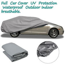 New Full Car Cover Waterproof Outdoor Sun UV Snow Dust Rain Resistant Protection