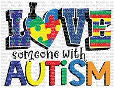Autism Awareness Waterslide Decals for Tumblers & Furniture - Permanent