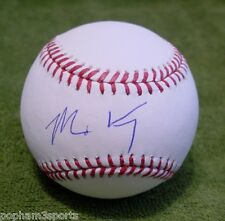 MATT KEMP Signed/Autographed OML BASEBALL BALL Los Angeles Dodgers, Braves w/COA