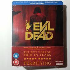 Evil Dead (2013) Blu-Ray+DVD  Steelbook UK Zavvi Exclusive Limited Edition New