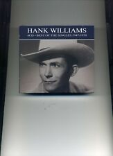 HANK WILLIAMS - BEST OF THE SINGLES 1947 - 1958 - 4 CDS - NEW!!