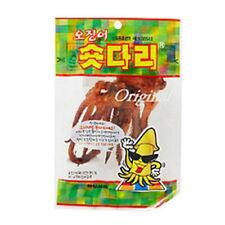Roasted and Seasoned Squid Legs 8 Pack SHORT DARI Delicious Korean Snack Food