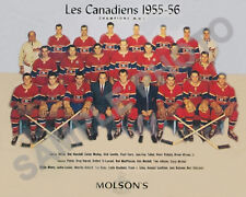 1955-56 MONTREAL CANADIENS STANLEY CUP CHAMPIONS 8X10 TEAM PHOTO