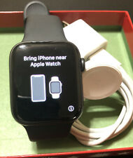 Apple Watch Series 5 44mm Space Gray Case Black Band GPS Works Great Condition