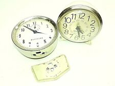 Vintage Westclox Clocks Lot of 2 Parts only