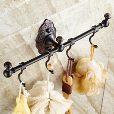 Bathroom Accessories Bath Robe Clothes Towel Hook Hanger Brass Wall Mount Holder