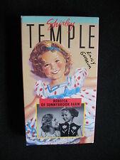 SHIRLEY TEMPLE OF SUNNYBR0OK FARM VHS