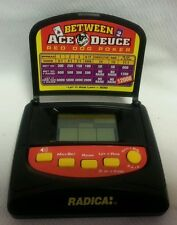 Radica Between Ace Deuce Red Dog Poker w Instructions Travel Game Tested Flip Up