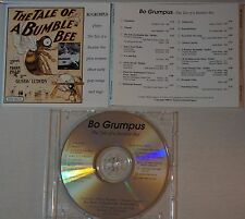 cd: BO GRUMPUS - THE TALE OF A BUMBLE-BEE - FRANK PIXLEY & GUSTAV LUDERS